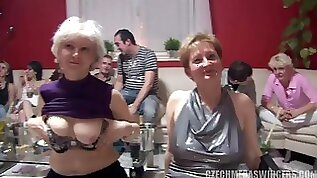 Swingers At Homemade Party
