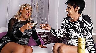 Two Naughty Mature Lsuts Go Lesbian MatureNL
