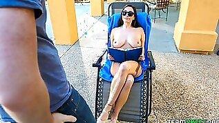 Beautiful hottie Karlee Grey likes rough sex so freaking much
