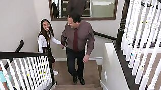 Asian teenager pounded by cherish parents