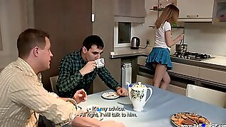 Sell Your GF Isabel Stern Sex dessert on a kitchen table
