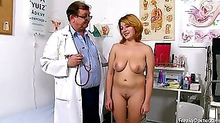 Freaky Doctor and busty blonde babe Lola Fauve