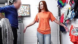 Scarlett Mae fucks officer to avoid jail time