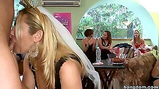 Amateur in The Bride To Be Gets Naughty
