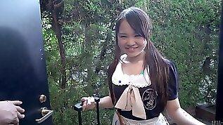 Torrid Risa Oomomo is a kawaii cutie who wanna suck tasty lollicock