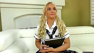 Arizona nympho Bella Jane gets slit fucked in doggy style hard
