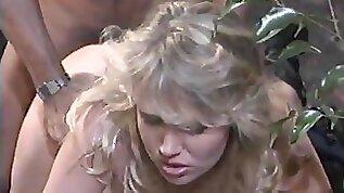 Nikki Charm spreading legs having her pussy smashed hardcore