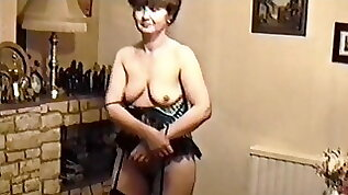 year old milf another retro strip and suck