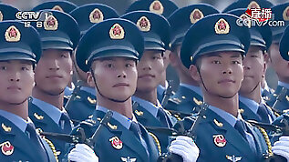 China celebrates anniversary with military parade