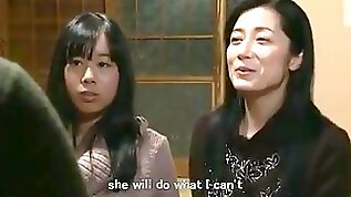Jap mom daughter keeping house subs