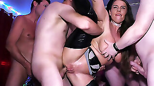 Rough anal party with sexy susi