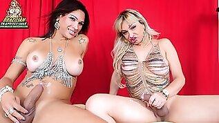 Big Cock Tgirls Jhoany And Walkyria Brazilian Transsexuals