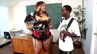 Big Black Booty Teacher And Boy