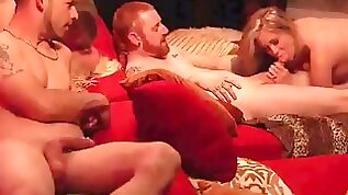 Married couples friends full swap