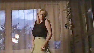 Wife dancing without pants