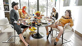 FamilyStrokes Kinky Family Thanksgiving Orgy