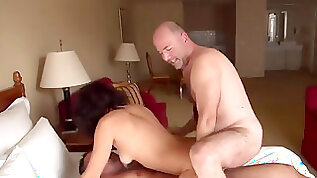 Sizzling wife fucked by STRANGERS at hotel