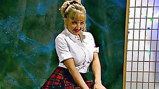 Danni dressed Up Schoolgirl Sexy