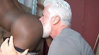 JAKE SILVER DADDY THE BARBER FUCK HIS BLACK HOLE