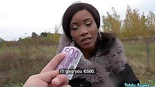 Thomas Hyka fucks big black hooker Kiki Minaj