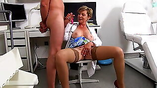 Dr. Anthonia loses self control at the sight of a large
