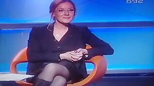 Oija Beckovic stockings in TV