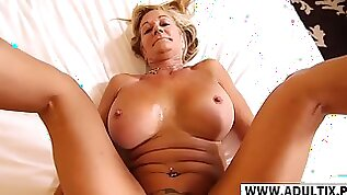 Lovely Step Mom Sandra Suck Hard Her Step son