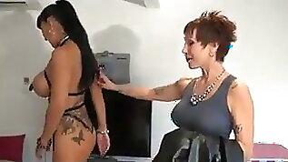 Titaina is fucked by three guys