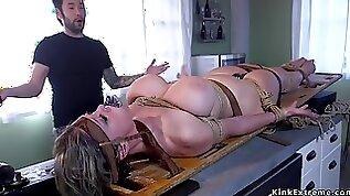 Dude ass fucking fucks tied up full bosomed Mature