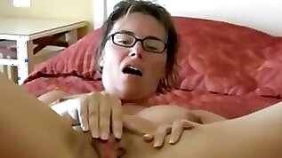 I toy my pussy until an explosive squirt orgasm.