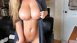 Stepmom with big natural knockers