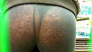 See Through Leggings Shop Thong