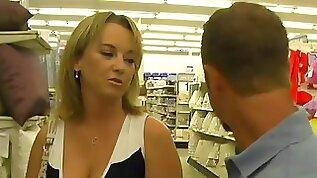 Dude fucks bitch shoots jizz in her ass crack!