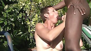Four mature wifes getting ass fucked by the pool