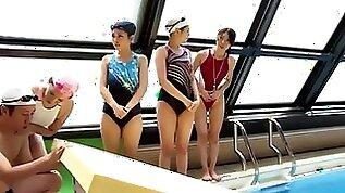 Japanese swimming game