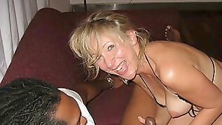 Hot MILF wife with BBC Compilation A Housewifes Dream