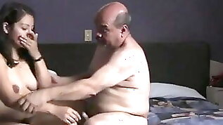 Indian girl fucked by oldman in hotel room.