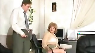 Russian mature louisa fucked at the office