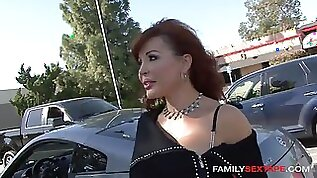 40yo nymph picked up amp seduced by sons friend