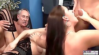 Dani Amour And Pascal White Cut Out Sexy Businesswomen