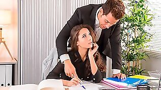 Liya Silver Gets Hot in the Office