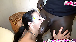 German pregnant mother need money and make porn