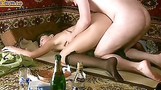 Gross Drunk Slut Fucked the Brains Out